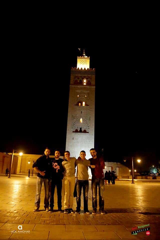 Maroc trip basketball