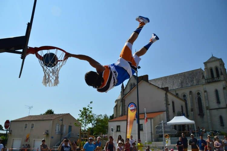 Basket acrobatique France