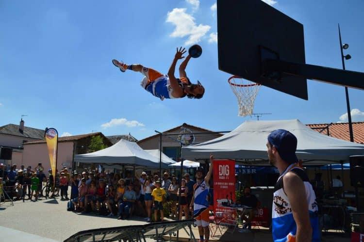 Basket acrobatique Barjots dunkers