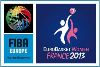 basket acrobatique à l'eurobasket women