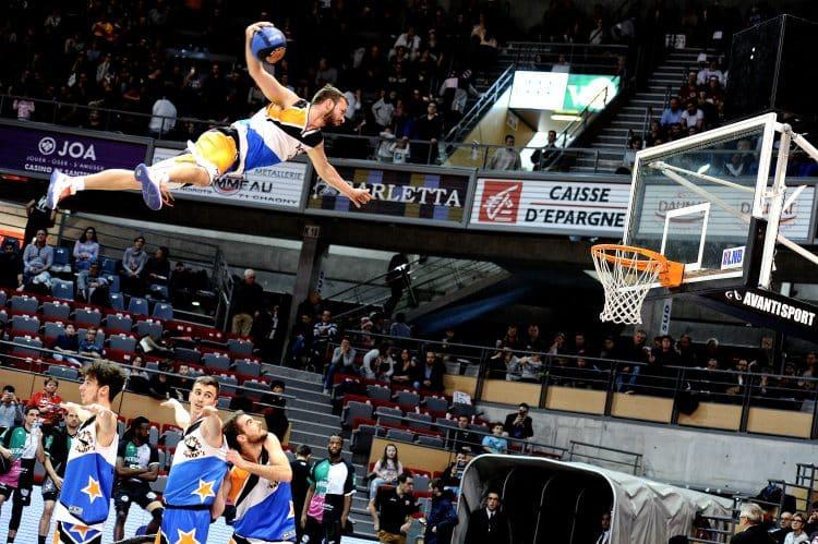 Elan sportif chalonnais basket acrobatique