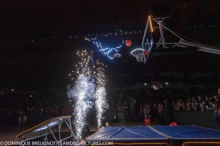 barjots dunkers show LED