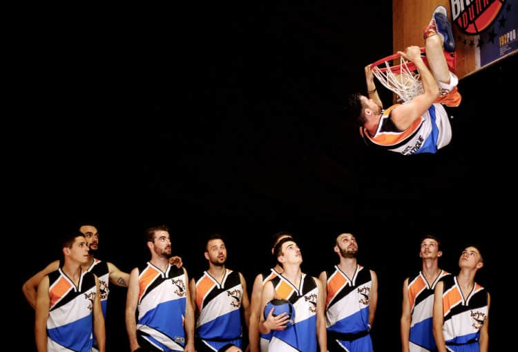 best team acrobatic basketball
