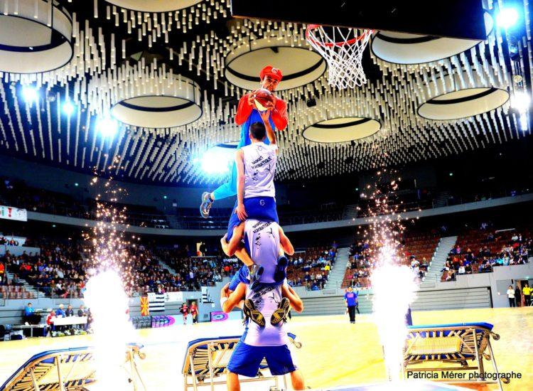 brest arena basket acrobatique