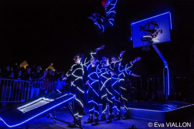 show dunk LED france
