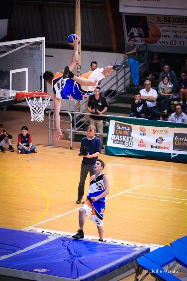 challans basket acrobatique