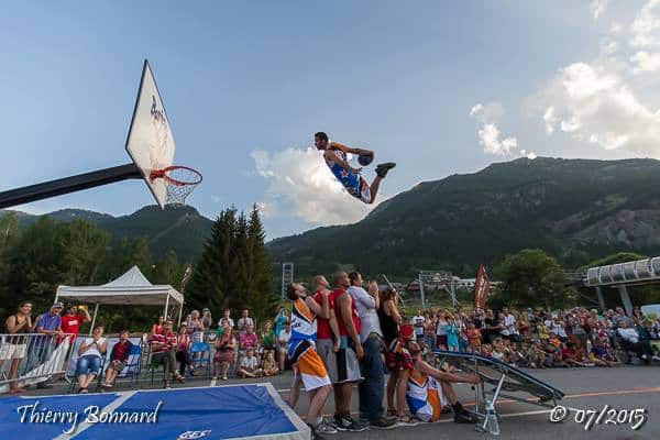 paysage basketball dunk