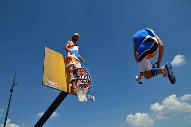 basket acro tour de france