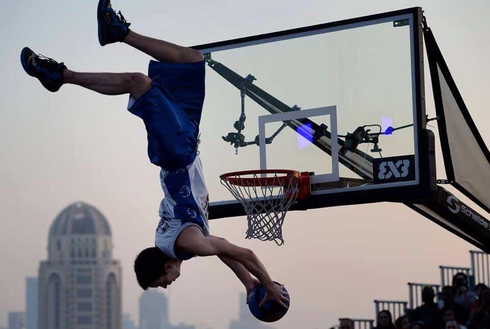 vrille qatar doha basket acro barjots