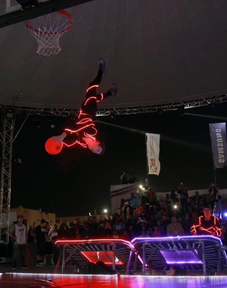 vrille show LED dunk barjots qatar
