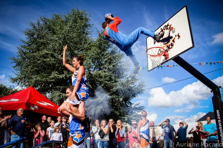 basket acrobatique super mario