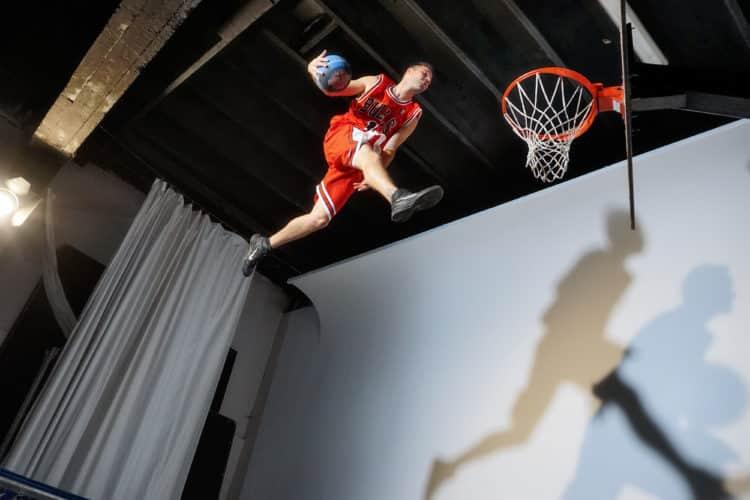 sony basket acrobatique