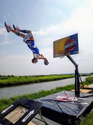 basket acrobatique pro extérieur
