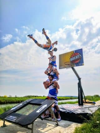 basket acrobatique vendée