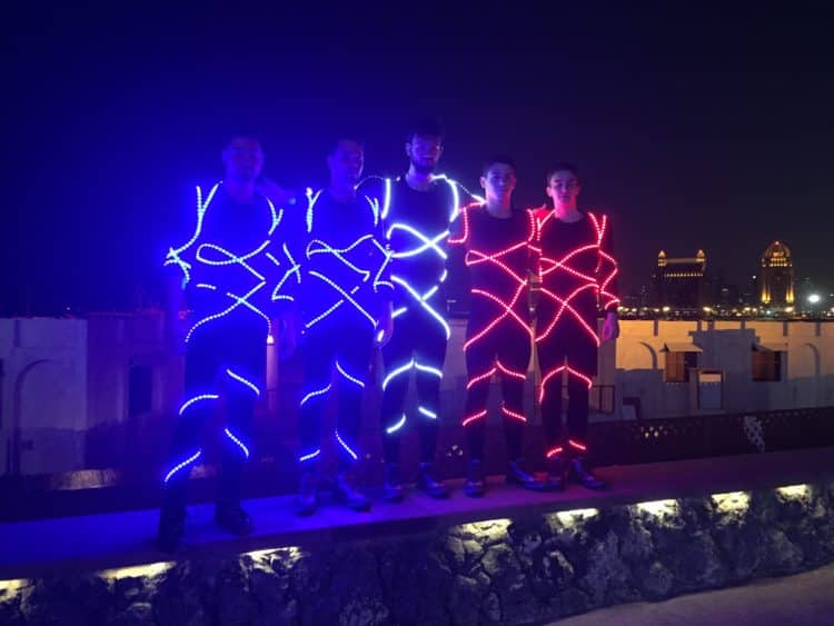 show LED qatar
