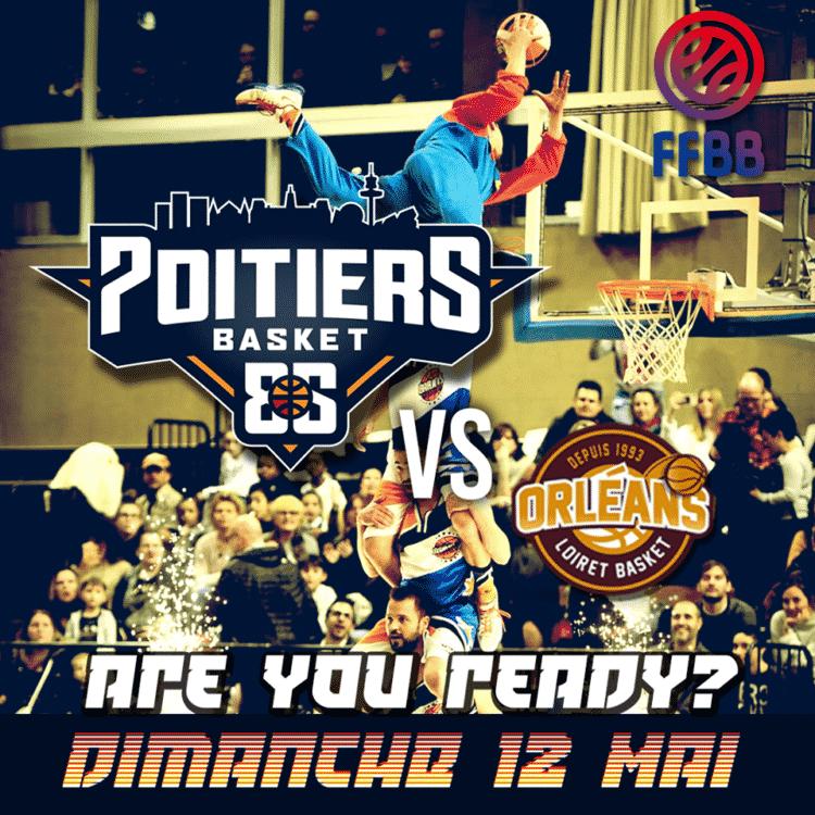 Poitiers Basket 86 basket acrobatique et dunk freestyle