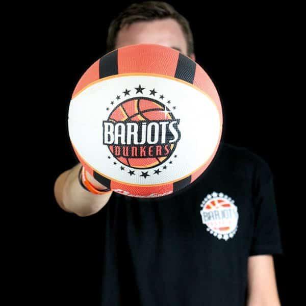 Ballon Barjots dunkers basket acrobatique