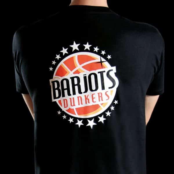 barjots-dunkers tshirtnoir