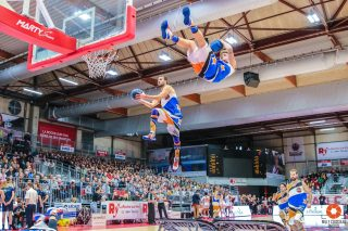 Barjots dunkers à La Roche sur yon pour un match du RVBC eurocup women