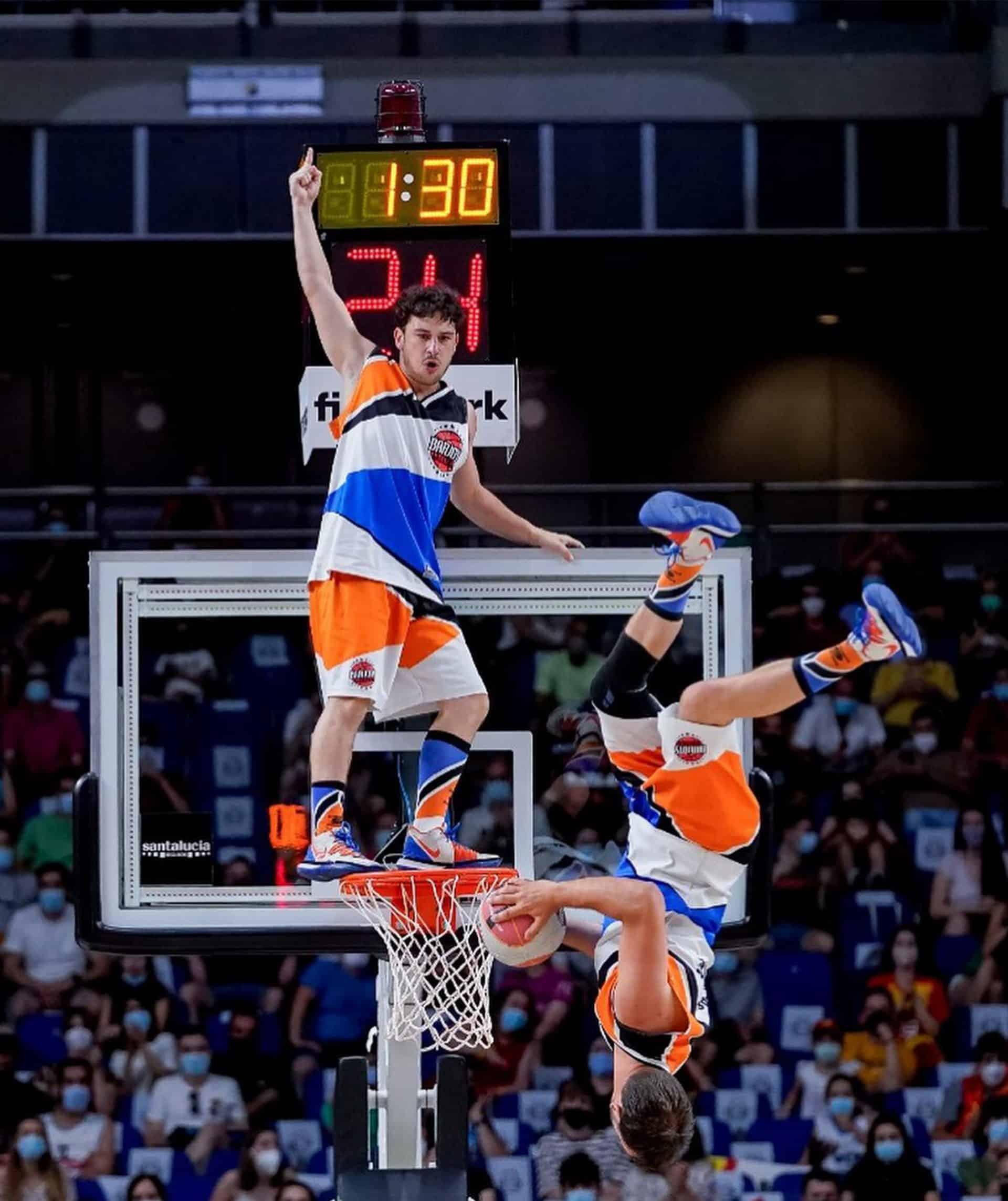 basket-ball show dunk 2022